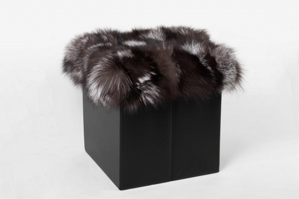 Silver Fox Pieces Foot Stool