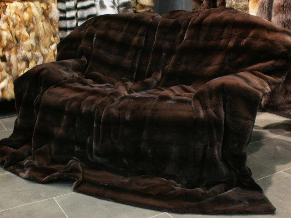 Mink Blanket with OA label