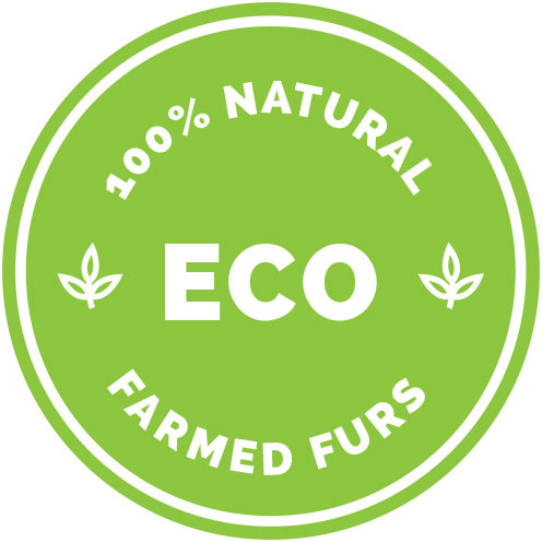 ECO - 100% Natural Farmed Furs