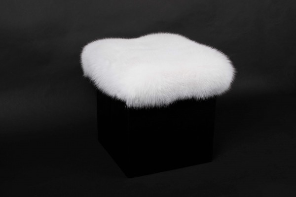 Scandinavian Shadow Fox Foot Stool