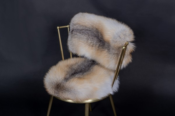 Cantori Chairs with Golden Island Fox Skin