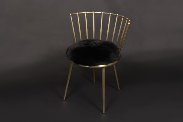 Cantori Chair with Shadow Fox in Black