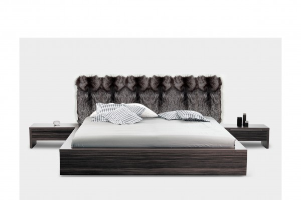 Bed Headboards with Scandinavian Silver Fox